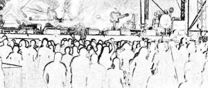 rendezvények illusztráció koncert